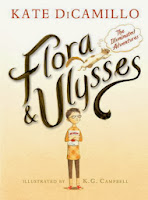flora and ulysses by kate dicamillo book cover
