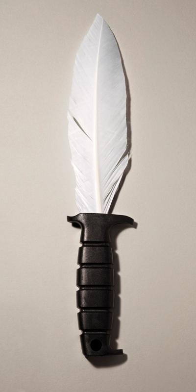 Kyle Bean: Lovlig 'kniv' med stort blad af fjer