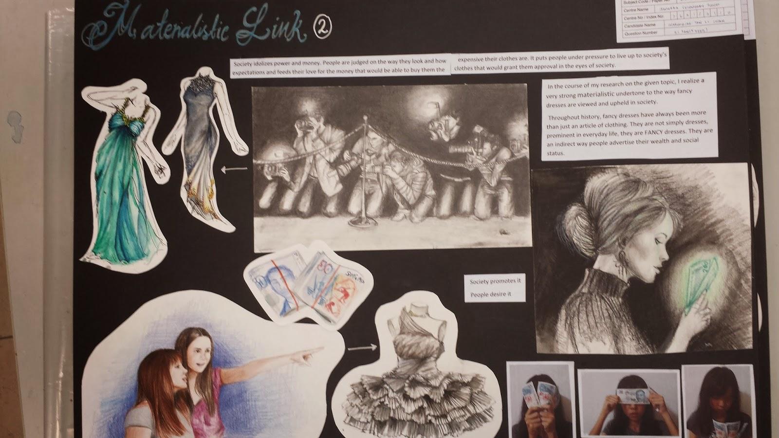 a level art coursework essay