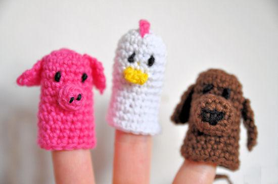 Fingerpuppen selber machen häkeln
