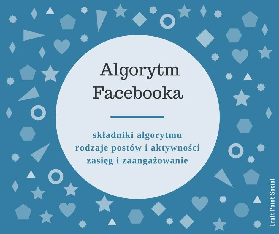 Składniki algorytmu Facebooka.