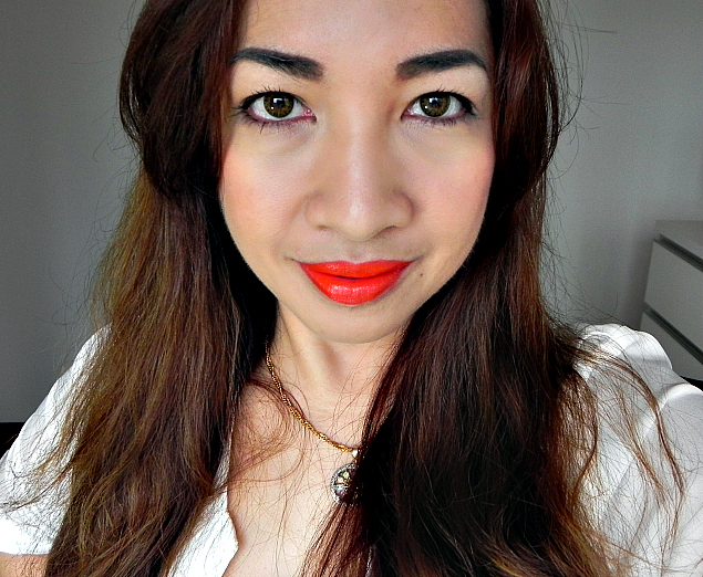 bright bold red lips, how to wear red lipstick, tom ford 2014 spring color collection, lip color sheer, 06 firecracker, review, swatch, tom ford makeup