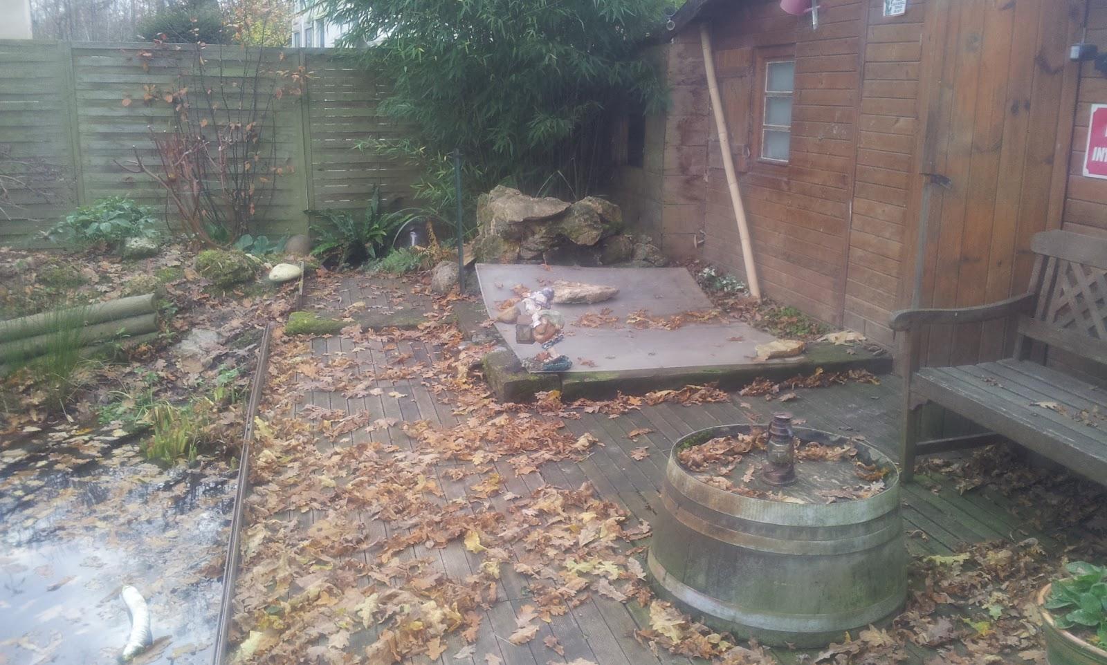 Mon petit bassin de jardin passage du bassin en mode hiver for Petit bassin