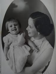 Penha e Ana Lucia em 1951