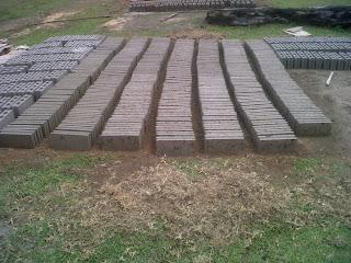pembuatan paving block, batako