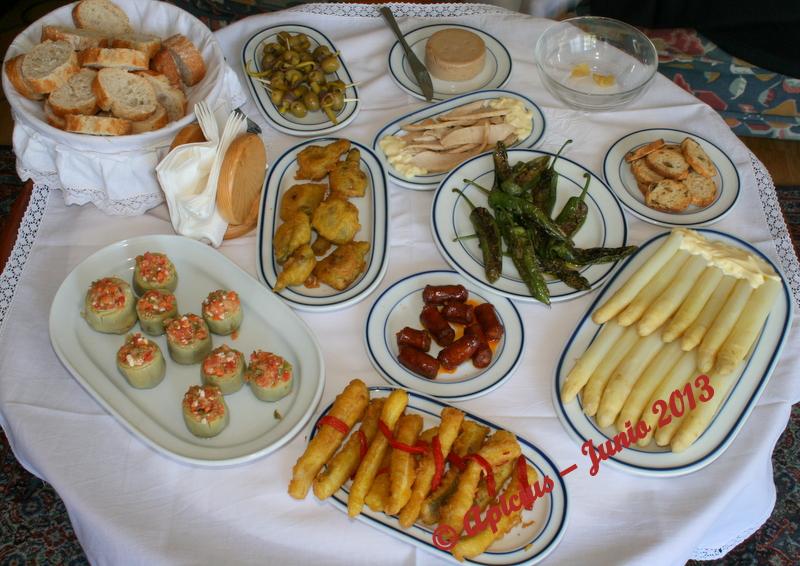 La cocina de cada d a 1236 men aperitivo crema de - Aperitivos con bacalao ...
