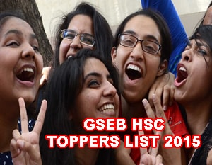 GSEB Class 12 Science Toppers 2015, Gujarat HSC Commerce Toppers 2015, GSEB 12th Arts Toppers 2015 District wise, HSC Result 2015 Gujarat Arts, Commerce, Science Toppers list Name wise Seat Number wise in Toppers in Bhuj District wise, Palanpur, Patan, Gandhinagar Topper