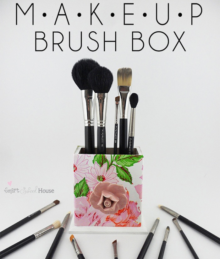 Makeup Brush Box