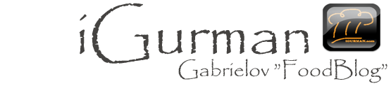 iGurman.com - Gabrielov FoodBlog - Slovak Food Blogger