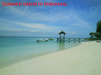 Attractive place in Sulawesi Island