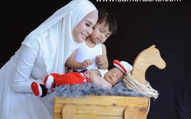 5 Foto Comel Anak Memey Suhaiza Dan Norman Hakim Dari Camora Arts