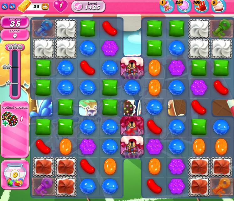 Candy Crush Saga 1435