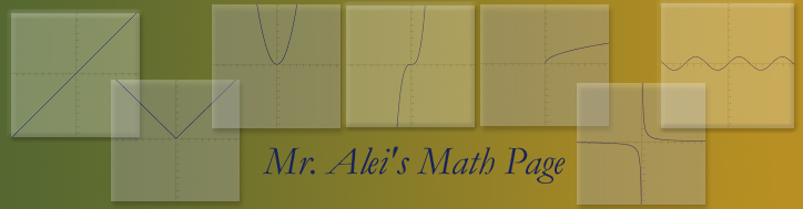 Mr. Alei's 15-16 Math Blog