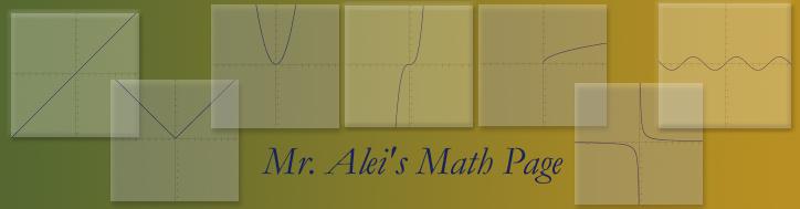 Mr. Alei's 15-16 Math Blog