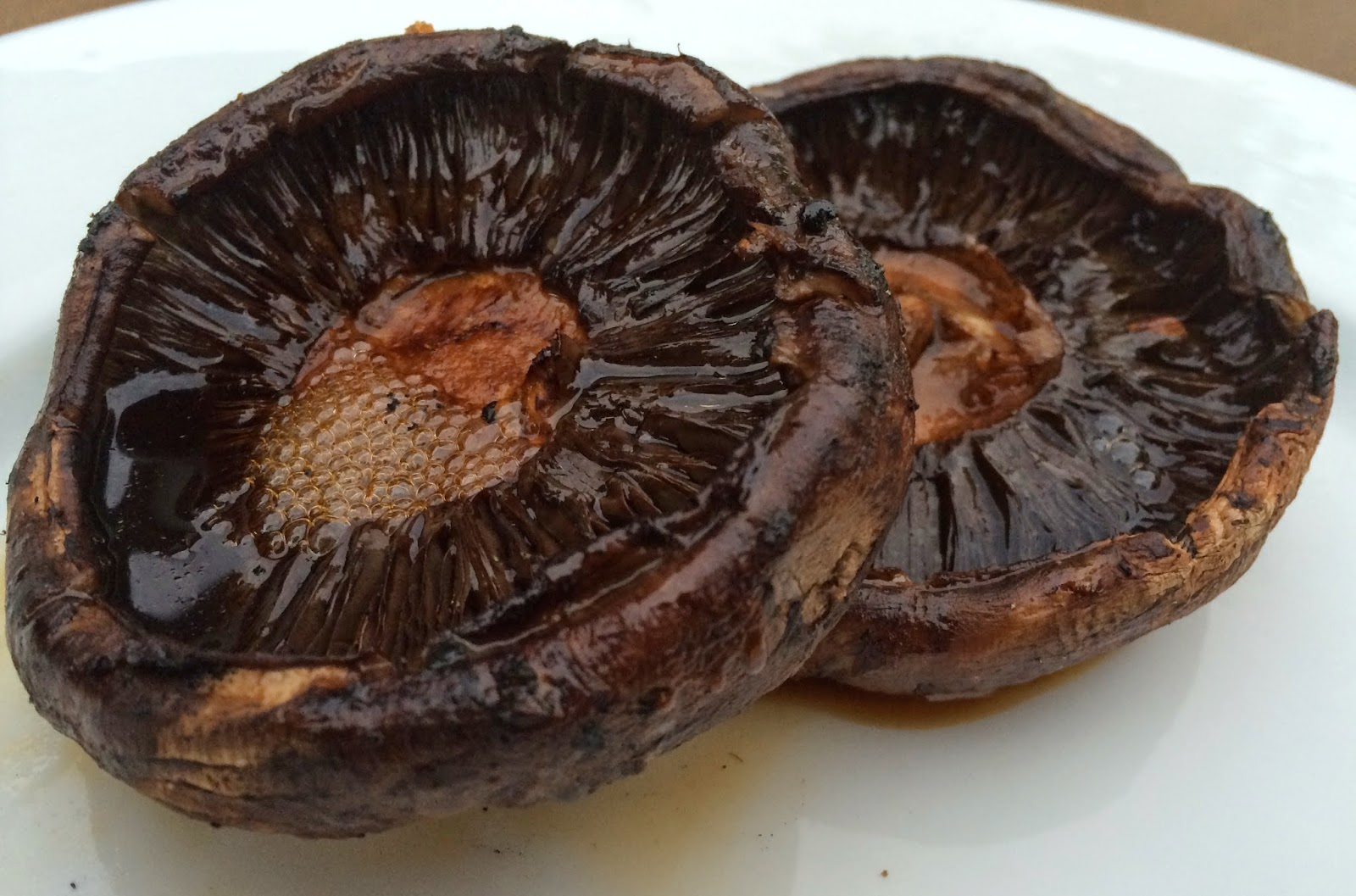 Balsamic Grilled Portbello Mushrooms