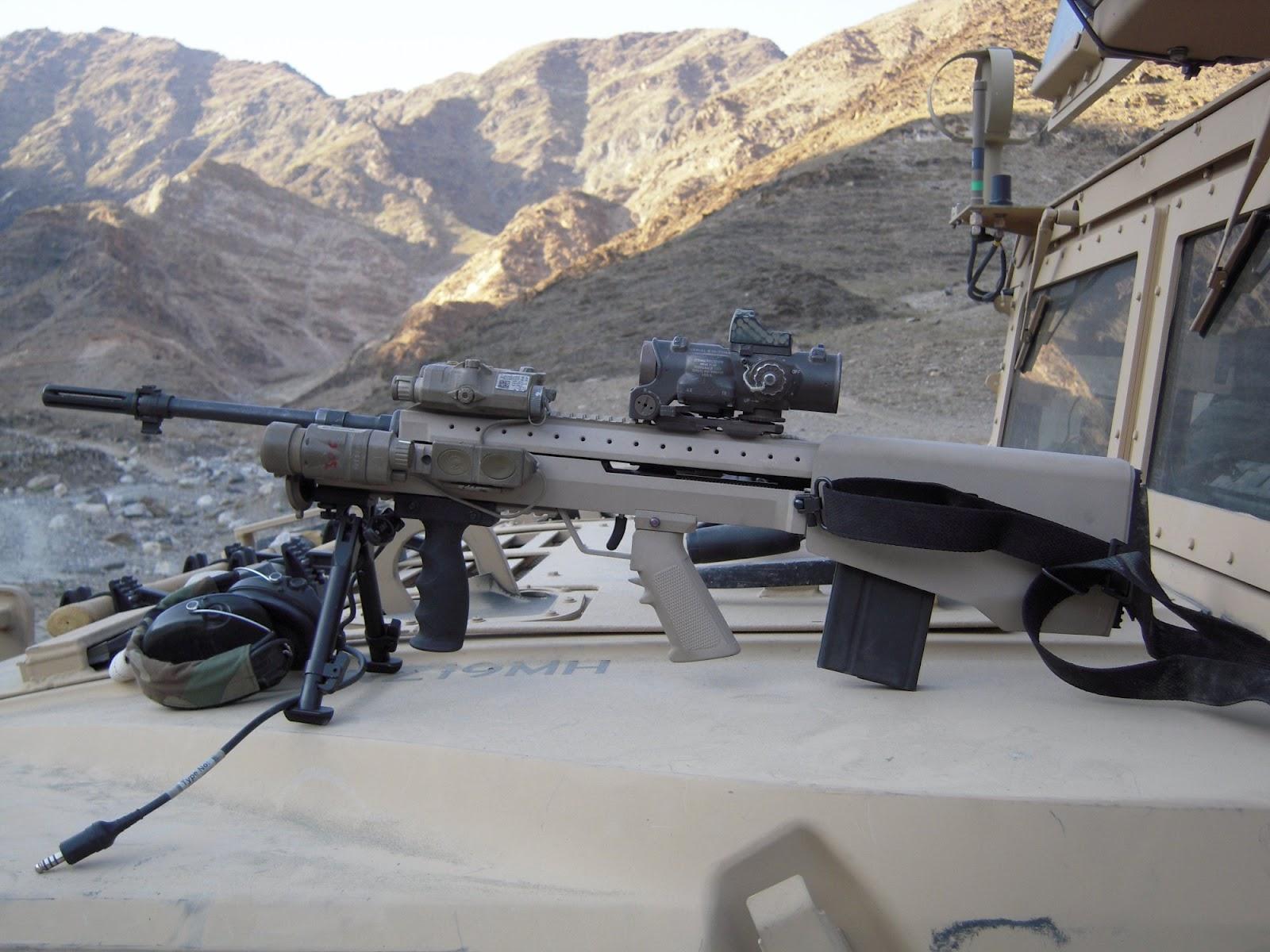 Weapons: SRSS BullDog762 Bullpup M14 M1A 7.62mm Battle Rifle Goes to ... M14 Bullpup