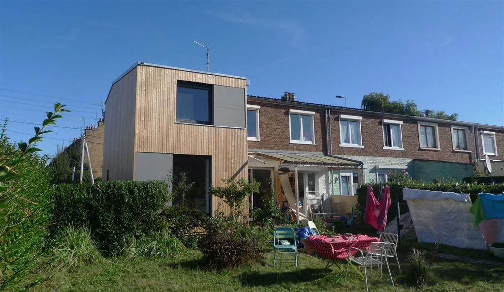 labokub architecture ecologique lille r novation contemporaine villeneuve d 39 ascq. Black Bedroom Furniture Sets. Home Design Ideas