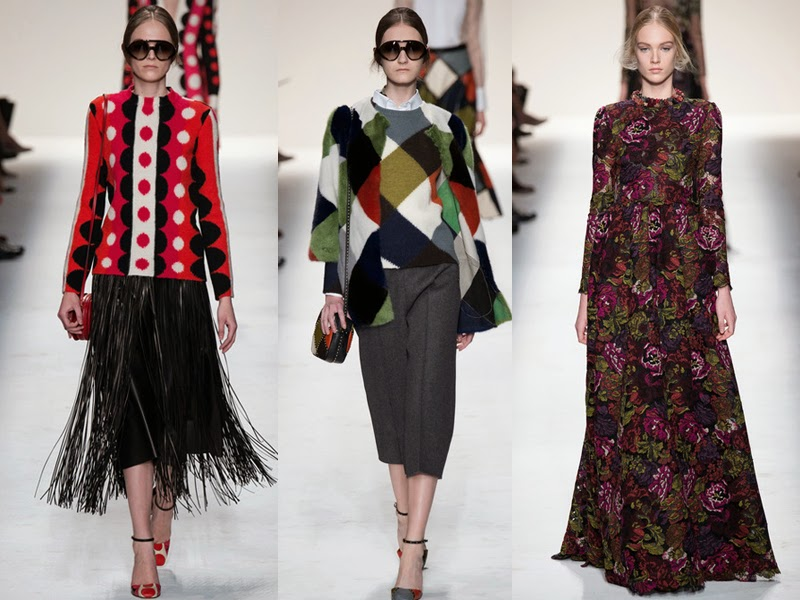 valentino, fall winter, fw, aw, autumn winter, rtw, ready to wear, 2014, designer, fashion blog, fashion review, collection, collection review, valentino fashion