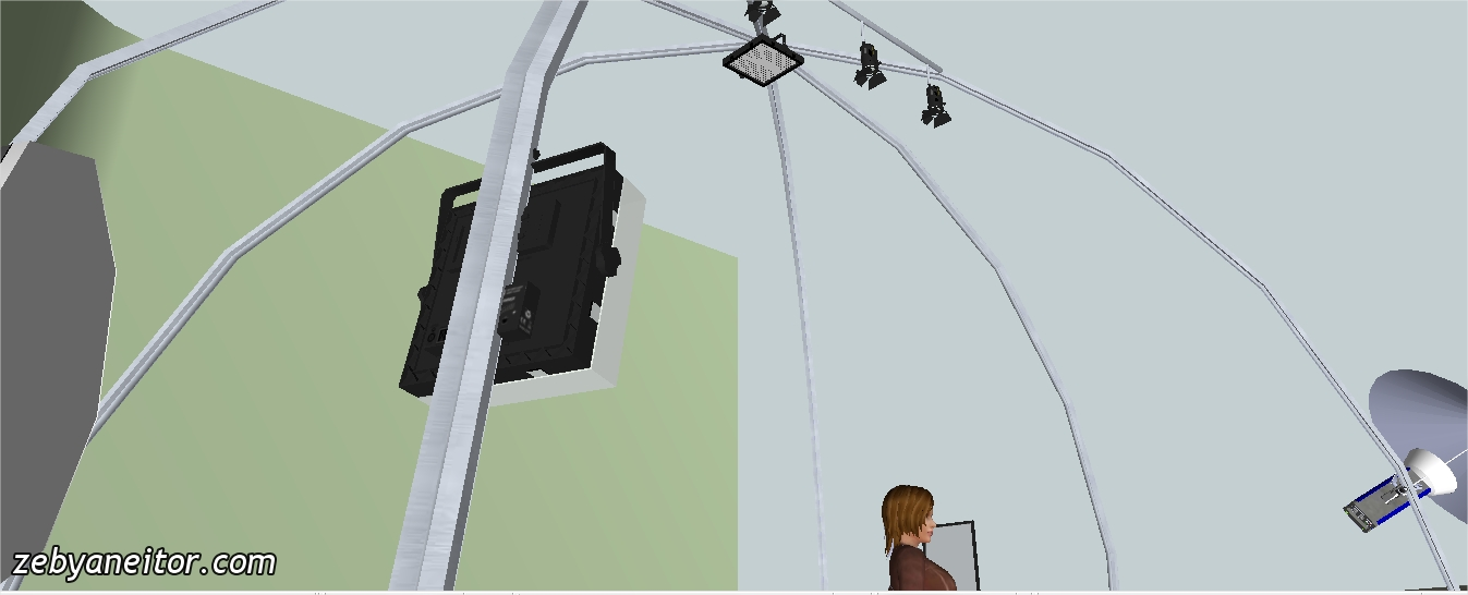 Sistema de iluminaci�n para Estudios de Fotograf�a.. Lighting ...