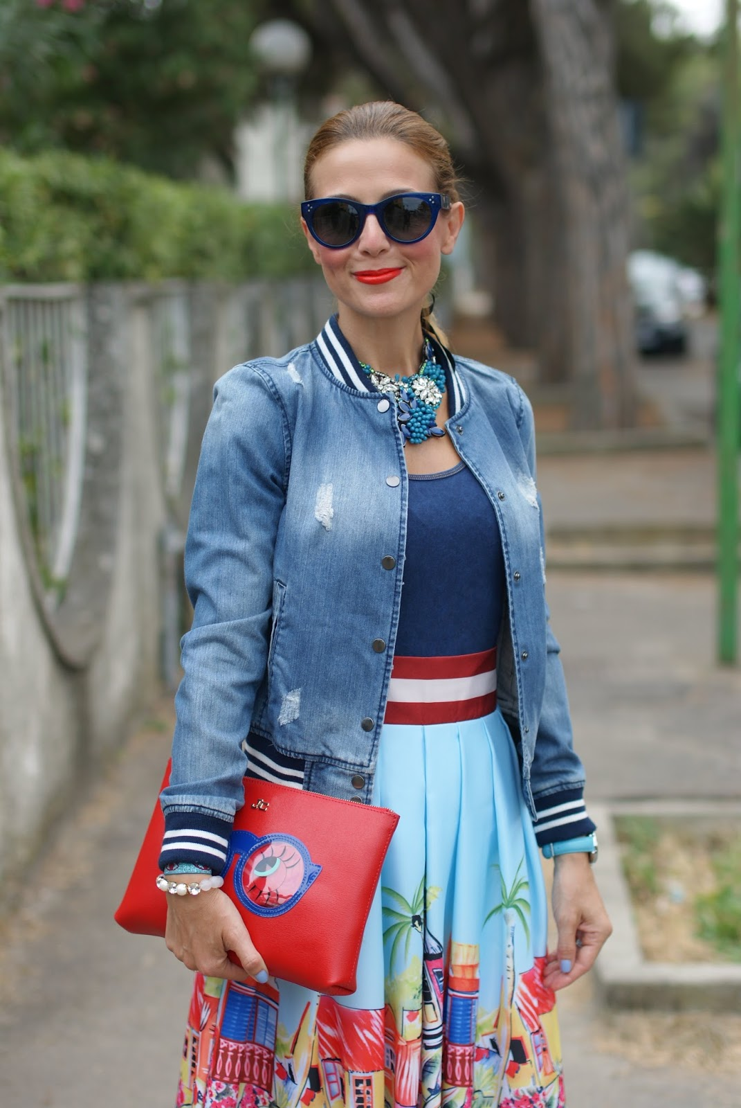 Hype Glasses, Only jacket and SimonaB Bijoux on Fashion and Cookies fashion blog