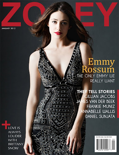 Emmy Rossum Zooey January 2012 Scans