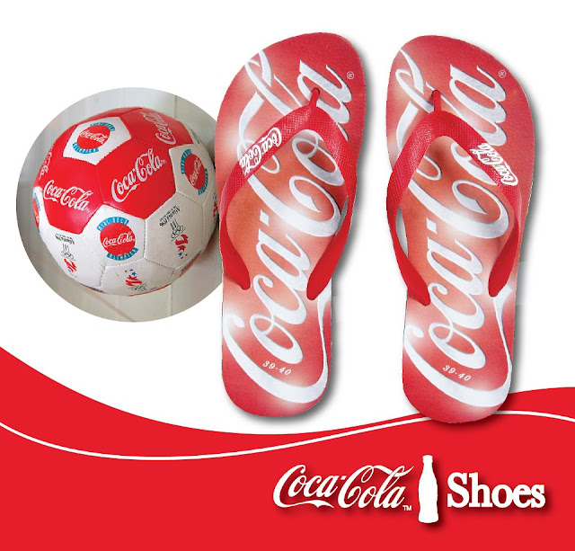 Chinelo da Coca-Cola Shoes
