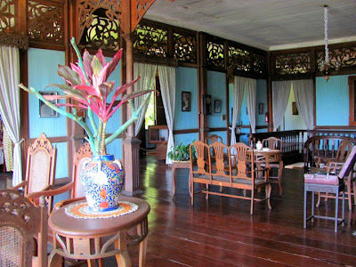 Balay Negrense Living Room- Bacolod Must see