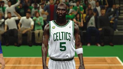 NBA 2K13 Kevin Garnett Cyberface Mod