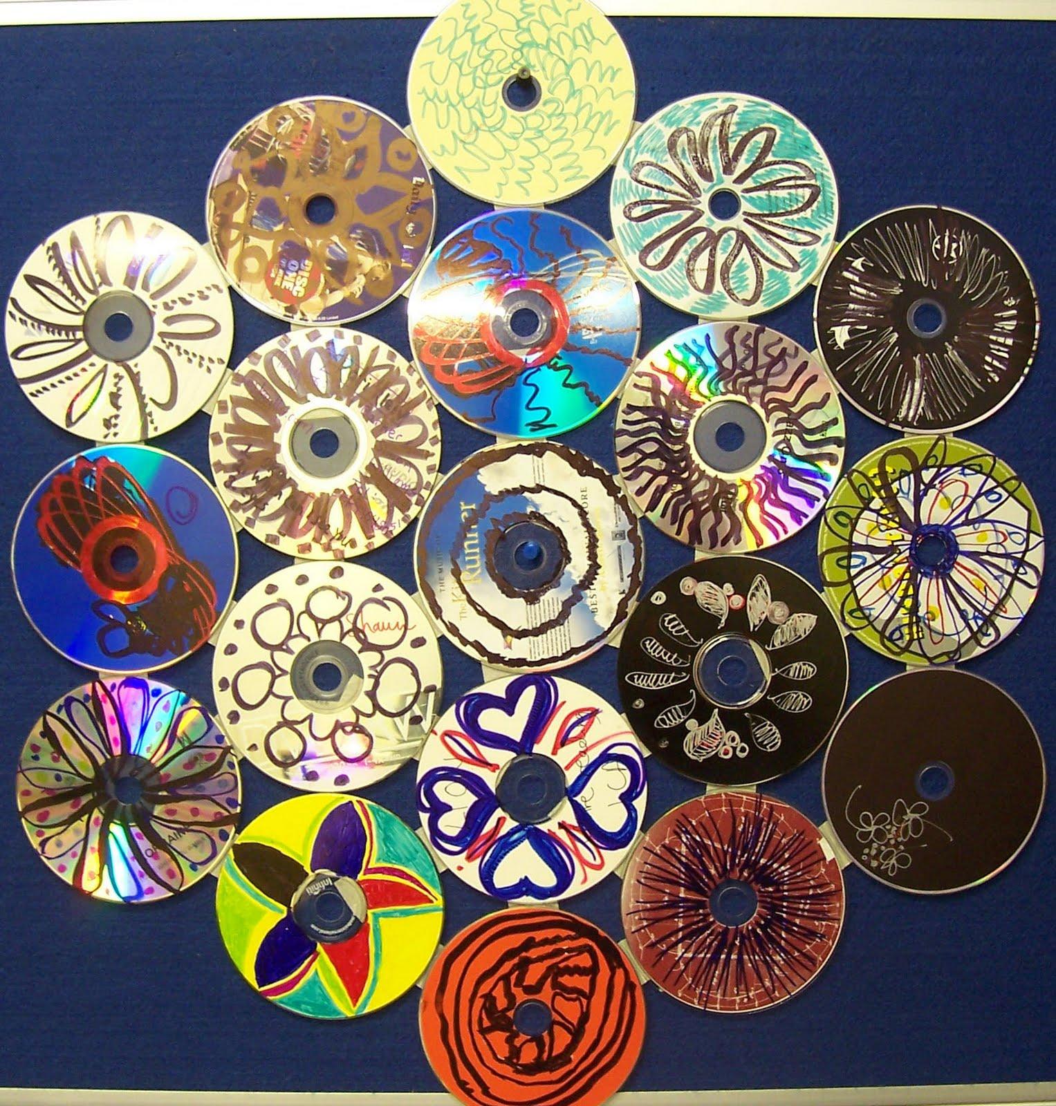 Crea tu mandala con un cd lodijoella for Cd reciclados decoracion