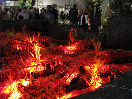 floral volcano