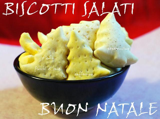 biscotti salati, peperoncino, fiocchi di sale, paprika e zafferano
