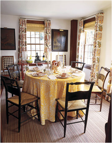 Cottage dining room design ideas simple home for Ideas for dining room