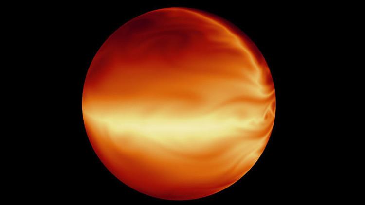 En 24 horas la atmósfera del planeta se dispara 815 grados centígrados