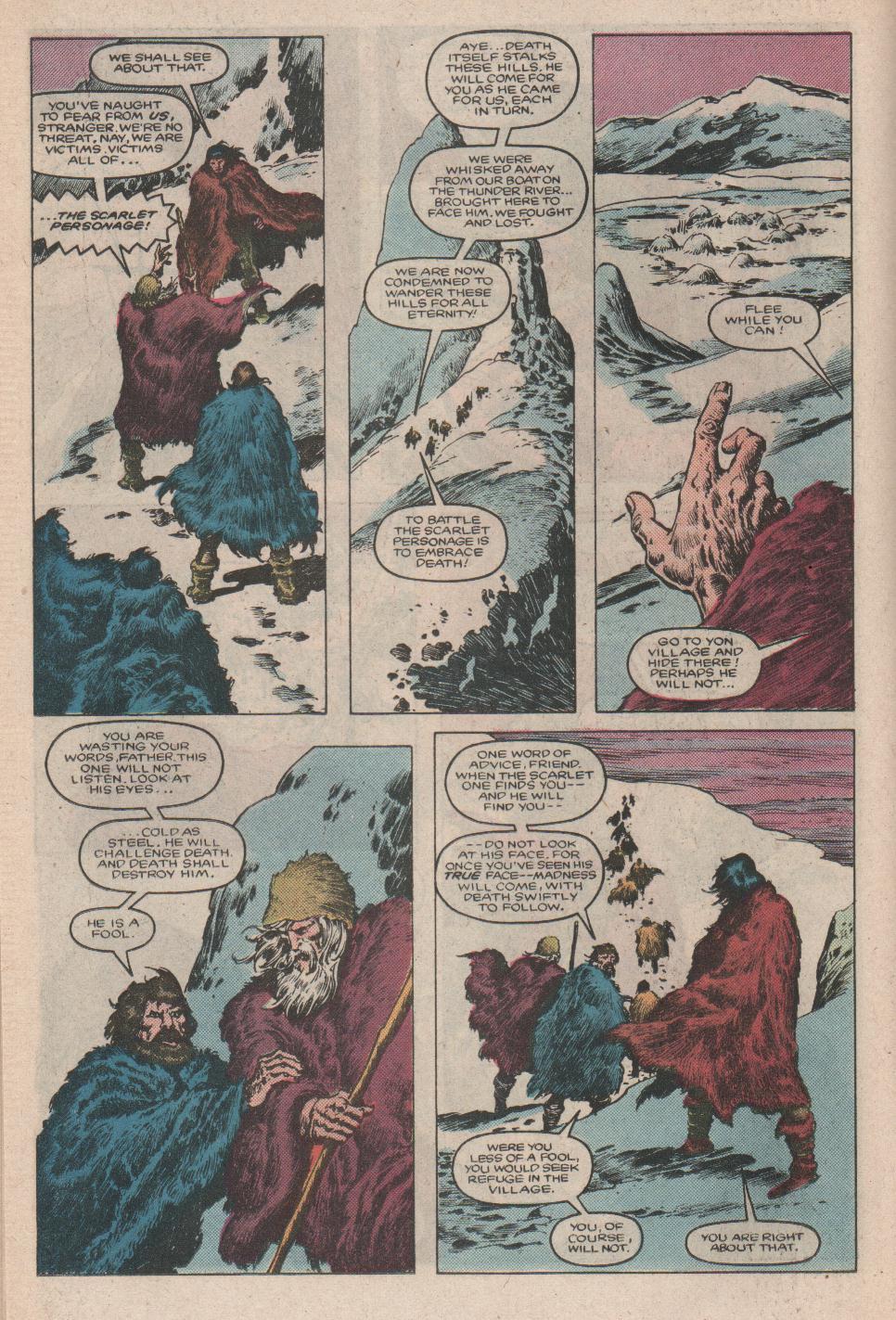 Conan the Barbarian (1970) Issue #175 #187 - English 13