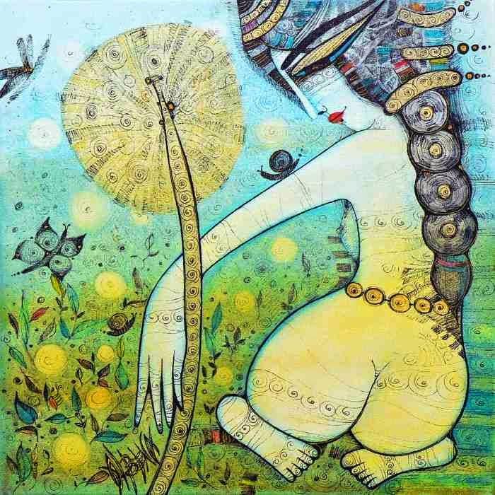Сказочные картины. Albena Vatcheva