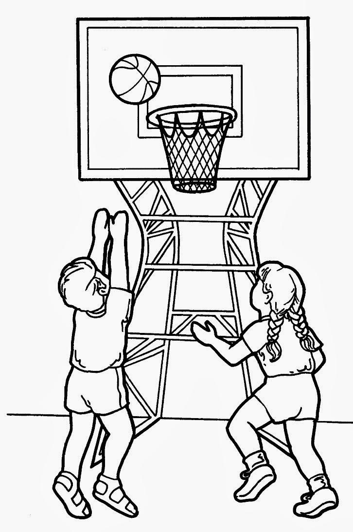 Disegni Da Colorare Sport