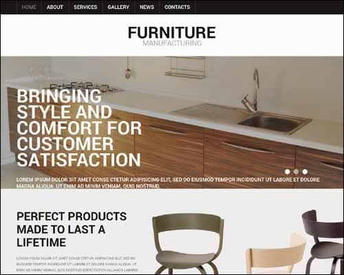 Furniture Premium Responsive Joomla Template