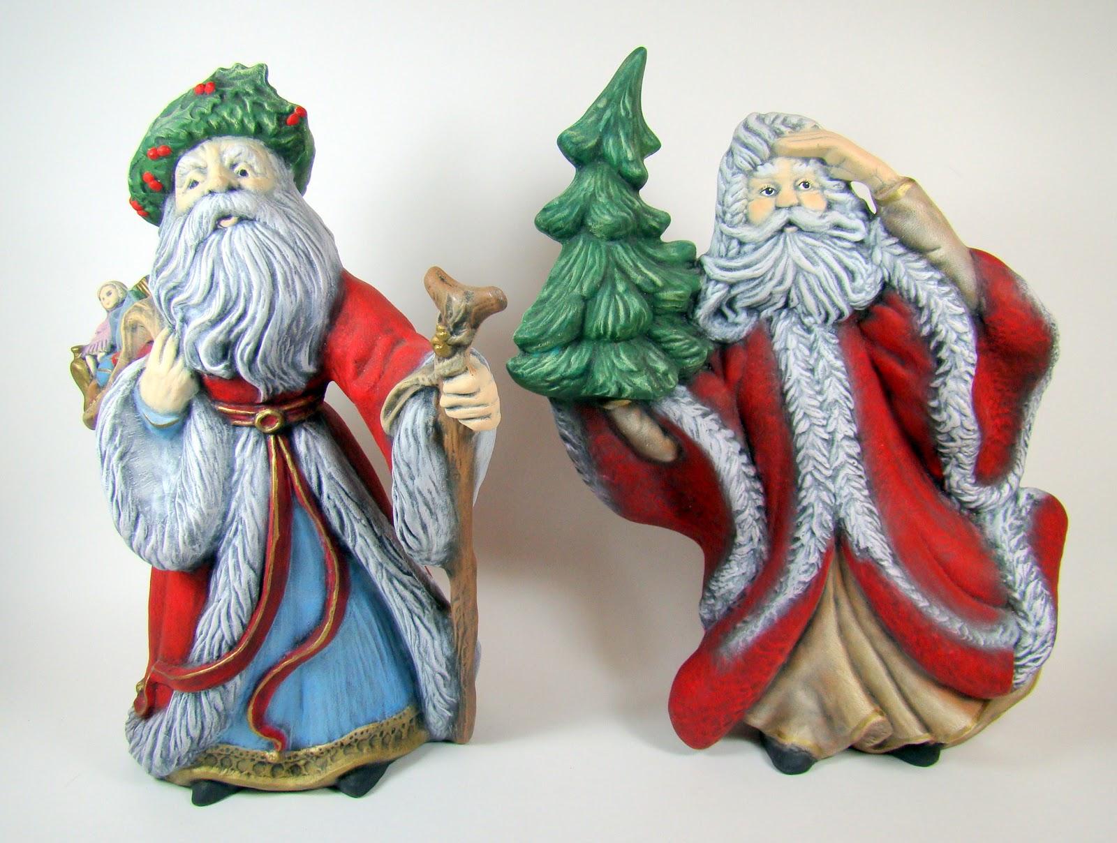 Magnolia's Attic: Old World Santas