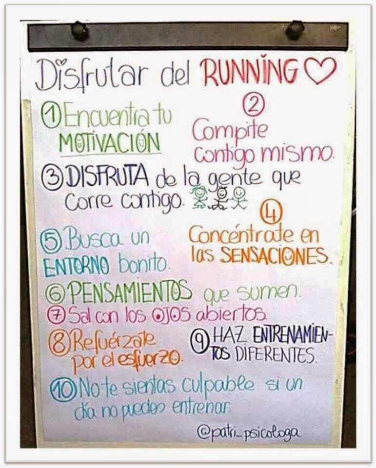Disfrutar del Running