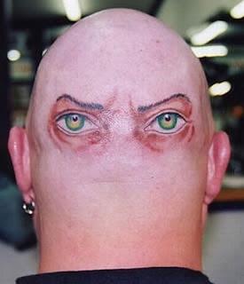 Head Tattoos   Head Tattoo Ideas   Head Tattoo Pictures