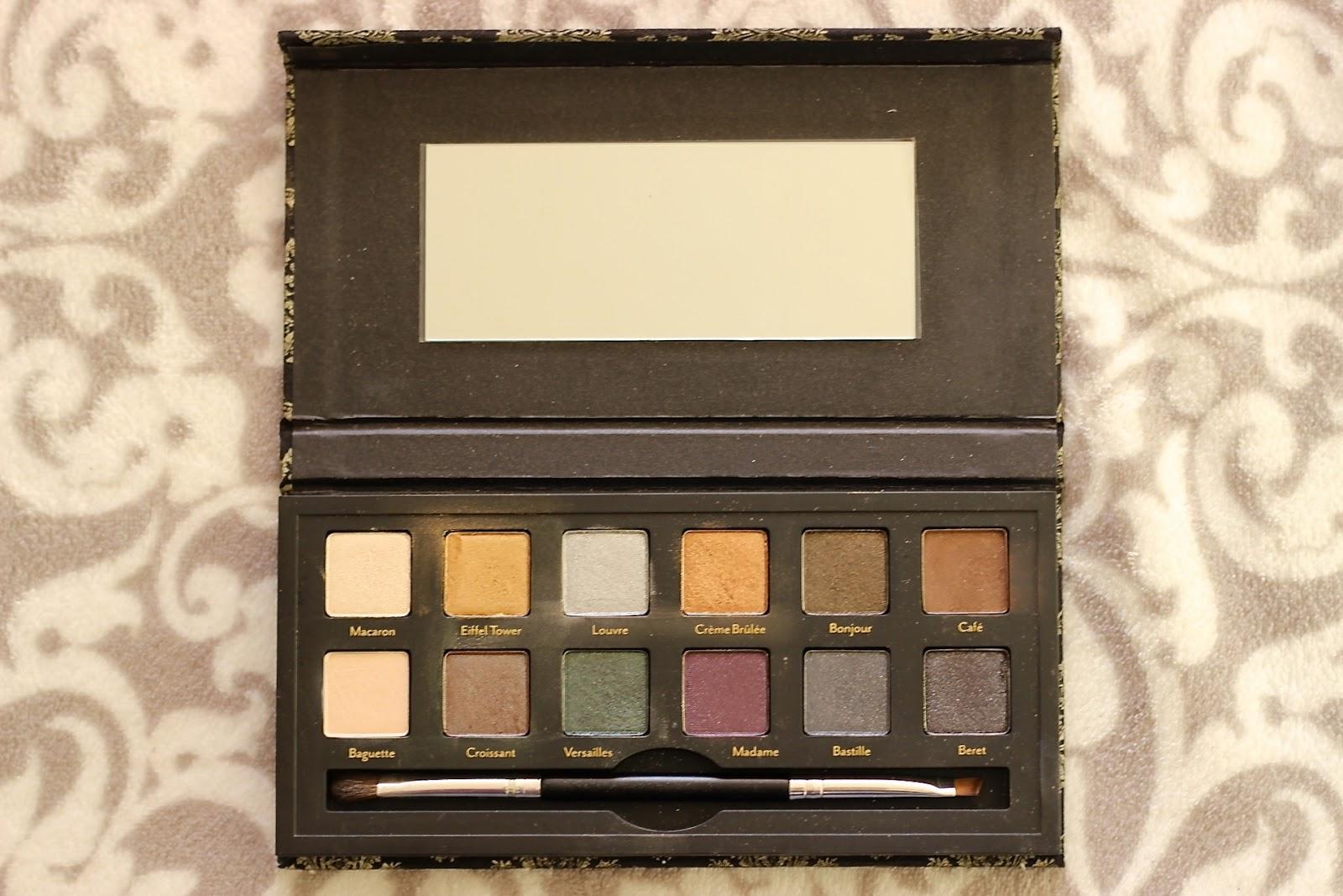 Cargo Cosmetics Let's Meet In Paris Eyeshadow Palette