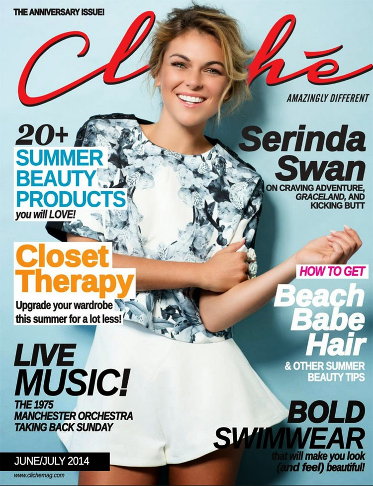 Serinda Swan for Cliche Magazine, June 2014