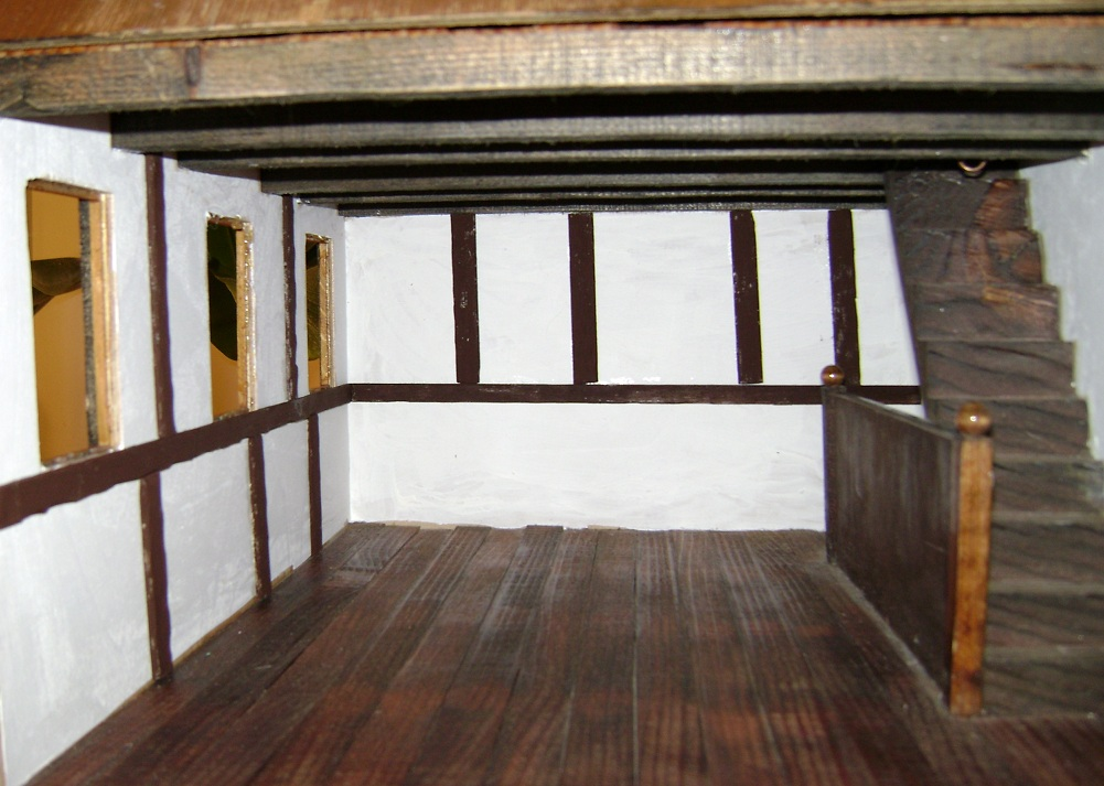 Dollhouse escapes: Timber framing
