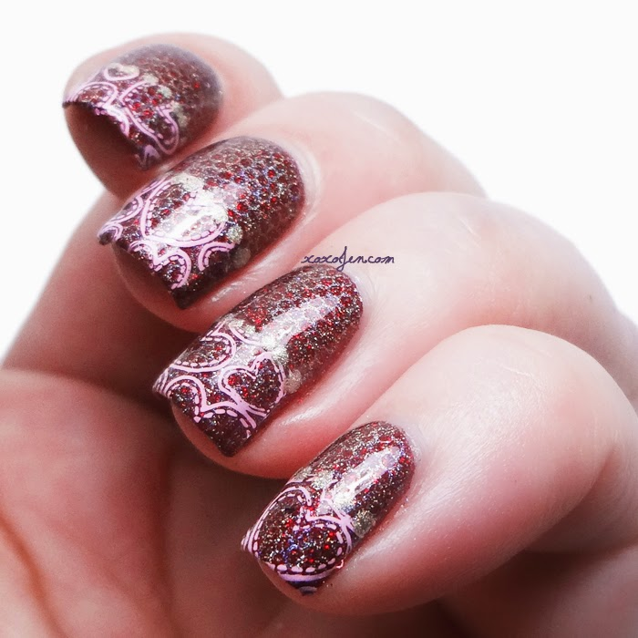 xoxoJen's swatch of Hearts and Fishnets