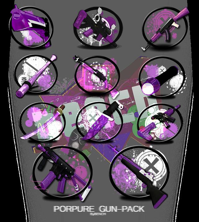 [Pack] Armas purpura Logo