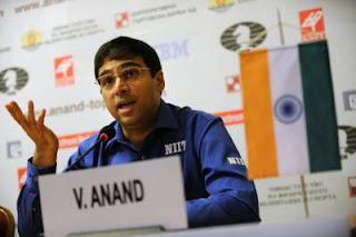 Echecs en Corse : Viswanathan Anand (2817) © AFP