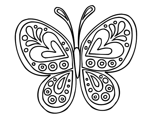 Butterflies for Coloring, part 5