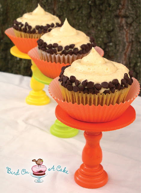 Chocolate Chip Pumpkin Cupcakes