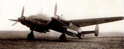 Прототип «Самолета 103В» на испытаниях