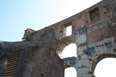 The Colosseum arches